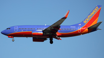 N748SW - Boeing 737-7H4 - Southwest Airlines
