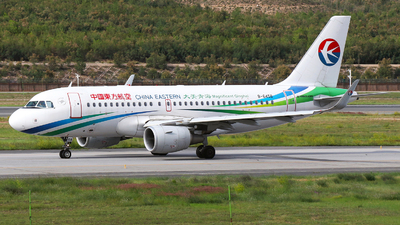 A picture of B6458 - Airbus A319115 - China Eastern Airlines - © SEN BAI