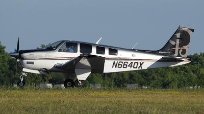 A picture of N6640X - BeechA36 Bonanza - [E1532] - © DJ Reed - OPShots Photo Team