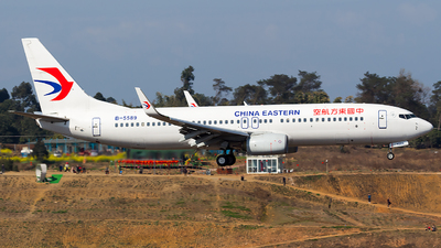 A picture of B5589 - Boeing 73789P - China Eastern Airlines - © SZ4509