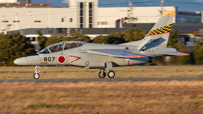 26-5807 - Kawasaki T-4 - Japan - Air Self Defence Force (JASDF)