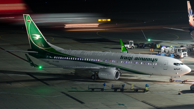 YI-ASK - Boeing 737-81Z - Iraqi Airways