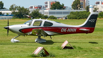 A picture of OKHHH - Cirrus SR22GTS - [3893] - © JakkoFly