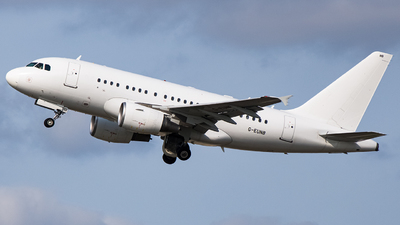 G-EUNB - Airbus A318-112 - Titan Airways
