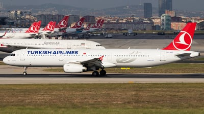 TC-JRT - Airbus A321-231 - Turkish Airlines