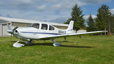 N864CD - Cirrus SR20 - Private