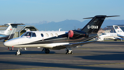 G-ORAW - Cessna Citation M2 - Private