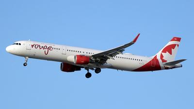 C-FJOK - Airbus A321-211 - Air Canada Rouge