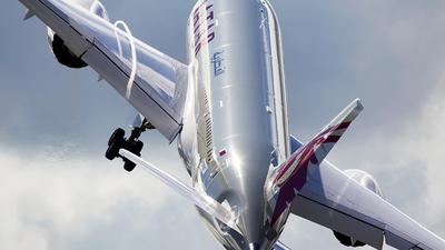 N10187 - Boeing 787-8 Dreamliner - Qatar Airways