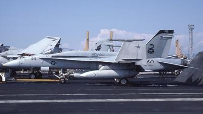 163466 - McDonnell Douglas F/A-18C Hornet - United States - US Navy (USN)