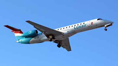 LX-LGI - Embraer ERJ-145LU - Luxair - Luxembourg Airlines