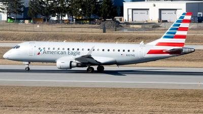 A picture of N107HQ - Embraer E175LR - American Airlines - © mariaLXY