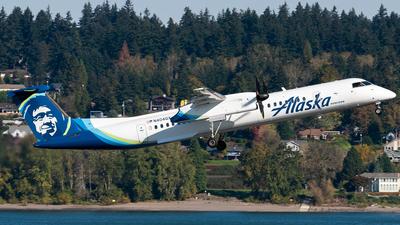 A picture of N404QX - De Havilland Canada Dash 8400 - Alaska Airlines - © Nick Sheeder