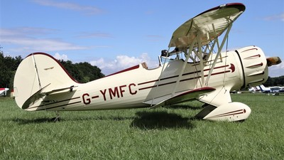 G-YMFC - Waco YMF-5 - Private