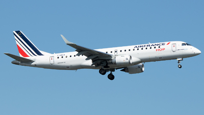 A picture of FHBLN - Embraer E190STD - Air France - © Stefan Bayer