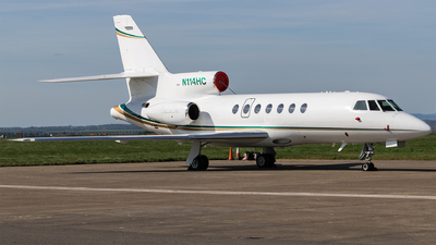 N114HC - Dassault Falcon 50EX - Private