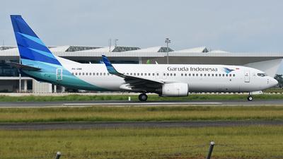 A picture of PKGMI - Boeing 7378U3 - Garuda Indonesia - © Adhe Bhisma Chendikia