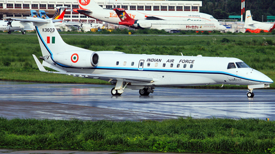 K3603 - Embraer ERJ-135BJ Legacy - India - Air Force