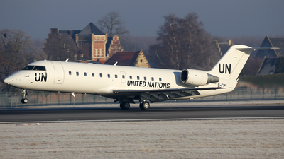 C-FWWU - Bombardier CRJ-200ER - United Nations (Voyageur Airways)