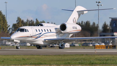 N78SL - Cessna 750 Citation X - Private