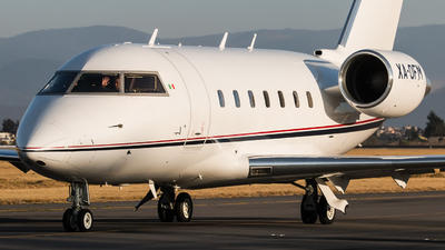 A picture of XAOFM - Bombardier CL601 Challenger - [5155] - © Hector Montes de Oca