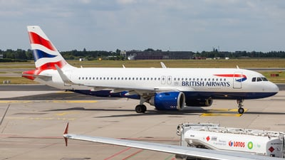 G-TTND - Airbus A320-251N - British Airways