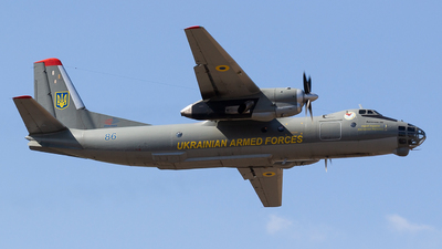 86 - Antonov An-30 - Ukraine - Air Force