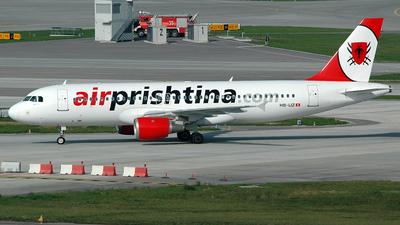 HB-IJZ - Airbus A320-211 - Air Prishtina