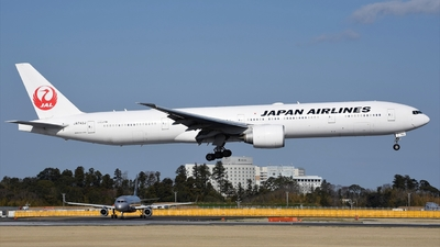 A picture of JA743J - Boeing 777346(ER) - Japan Airlines - © Akihiko Takahashi