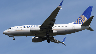 A picture of N14731 - Boeing 737724 - United Airlines - © DJ Reed - OPShots Photo Team