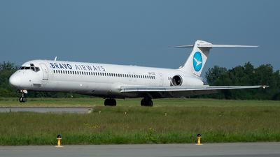 UR-COC - McDonnell Douglas MD-83 - Bravo Airways