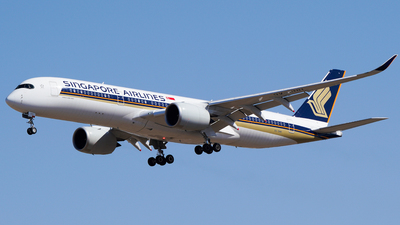 A picture of 9VSHH - Airbus A350941 - Singapore Airlines - © CHEN SHUO