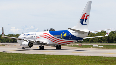 A picture of 9MMXS - Boeing 7378H6 - Malaysia Airlines - © Kody Chin