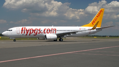 TC-AAU - Boeing 737-82R - Pegasus Airlines