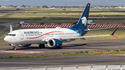 A picture of N109JS - Boeing 737 MAX 8 - Aeromexico - © Santiago_MN