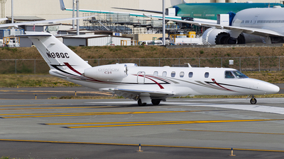 N88QC - Cessna 525 Citationjet CJ4 - Private