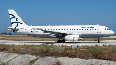 SX-DGL - Airbus A320-232 - Aegean Airlines
