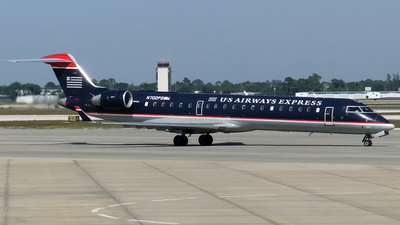 N702PS - Bombardier CRJ-701ER - US Airways Express (PSA Airlines)