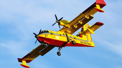 I-DPCC - Canadair CL-415 - Italy - Vigili del Fuoco