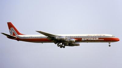C-GMXB - Douglas DC-8-61 - Nationair Canada