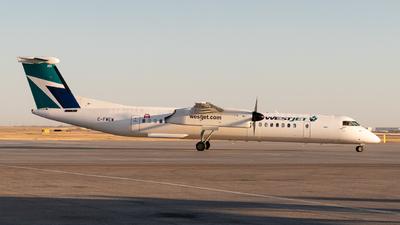 A picture of CFWEW - De Havilland Canada Dash 8400 - WestJet - © Bharath Manvi