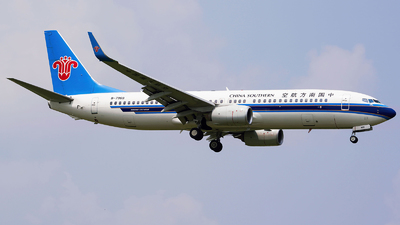 A picture of B7969 - Boeing 73781B - China Southern Airlines - © Spotter_DF767