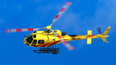 A picture of HBZMU - Eurocopter AS350 B3 Ecureuil - [7496] - © Lorenzo Varin - AirTeamImages