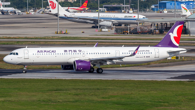 B-MBR - Airbus A321-271NX - Air Macau