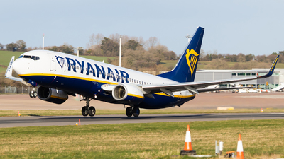 A picture of EIEKK - Boeing 7378AS - Ryanair - © Dominic Hall