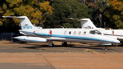 ZS-MTD - Gates Learjet 25B - Private