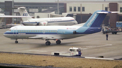 PH-SIX - Fokker F28-4000 Fellowship - NLM CityHopper