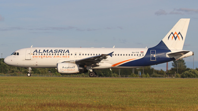 SU-TCE - Airbus A320-232 - Almasria Universal Airlines