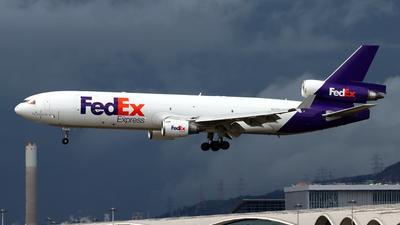 N572FE - McDonnell Douglas MD-11(F) - FedEx