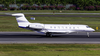 VP-CHZ - Gulfstream G650ER - Private